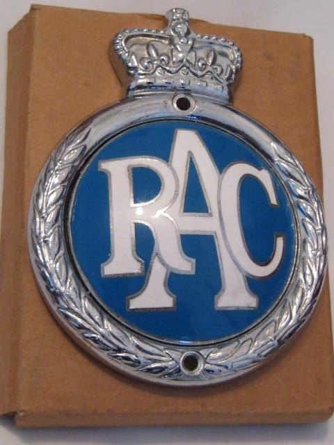 Self Adhesive ALVIS Union Jack GB Brass Enamel Classic Car Badge